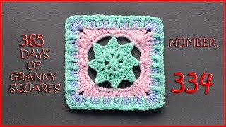 getlinkyoutube.com-365 Days of Granny Squares Number 334