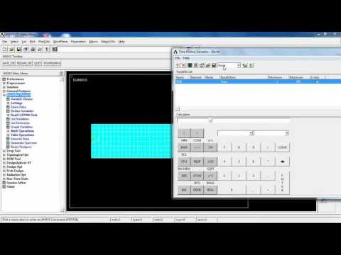 ANSYS - Lesson 21: Transient Heat Transfer Analysis