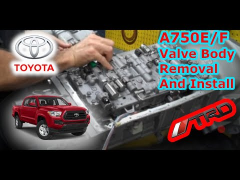 IPT Performance Transmissions A750E/F Valve Body Installation
