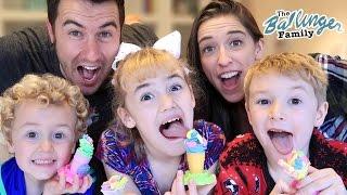 Play-Doh Ice Cream Challenge w/ Rachel Ballinger