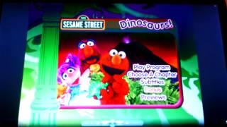 getlinkyoutube.com-Sesame Street- Dinosaurs! Menu Walkthrough
