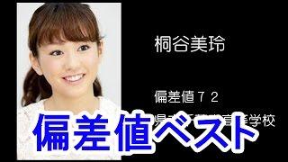 getlinkyoutube.com-芸能人偏差値ランキング【女性】ベスト20/Japanese Woman celebrity deviation value ranking Best 20
