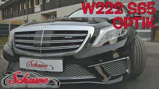 Mercedes Benz S-Klasse (W222) S350 Umbau auf S65 AMG Styling durch Schawe Car Design