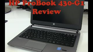 getlinkyoutube.com-Hewlett-Packard HP Probook 430 Review
