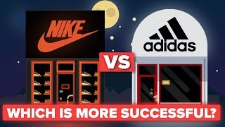 Is Nike More Successful Than Adidas? Shoe / Apparel Company Comparison width=