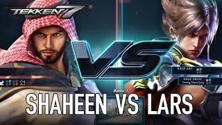 TEKKEN 7 - Shaheen VS Lars Gameplay