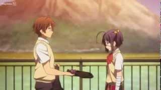 getlinkyoutube.com-Yuuta gives Rikka a Birthday Present - Chuunibyou Demo Koi Ga Shitai