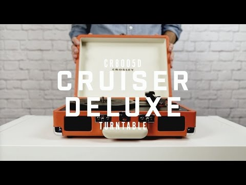 Crosley 100th Anniversary CR8005D Cruiser Bluetooth Portable Turntable - Gold