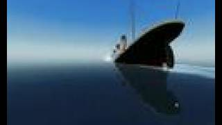 getlinkyoutube.com-Sinking of Titanic (ship simulator 2008)