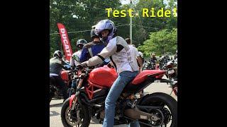 getlinkyoutube.com-Ducati Monster 821 Demo Ride (bad video quality)