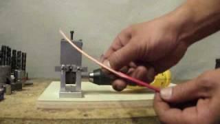 getlinkyoutube.com-Wire Stripping Machine - Great Machine!