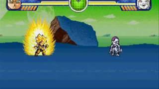 getlinkyoutube.com-Galactic Warriors - Super Saiyan Goku