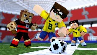 getlinkyoutube.com-Minecraft: PARTIDA DE FUTEBOL! | Soccer Mini-Game
