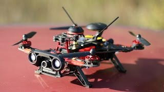 getlinkyoutube.com-Walkera Runner 250 Advance Prototyp: Gektor PIDs Flugtest und Crashtest