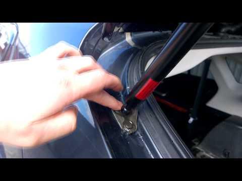 Lexus RX II течь воды в салон