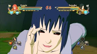 getlinkyoutube.com-Naruto Ultimate Ninja Storm 3 Full Burst EMS Sasuke Karin Character Swap Gameplay (PC)