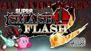 getlinkyoutube.com-Super Smash Flash 2 v0.9: All 10 Event Matches