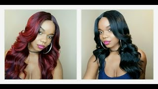 getlinkyoutube.com-$34 Must Buy: Freetress Equal Premium Delux Lace Front Wig Cameron