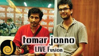 getlinkyoutube.com-Tomar Jonno | Arnob and Prithwi Raj | LIVE Fusion | Radio Next 93.2 FM