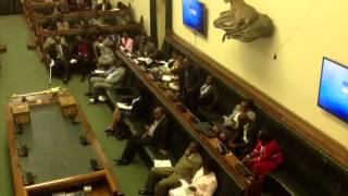 getlinkyoutube.com-Cde Chinotimba speaks on sanctions in the National Assembly