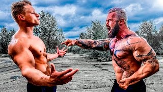 getlinkyoutube.com-Fitness Model VS Bodybuilder - STRENGTH WARS 2k16 #16