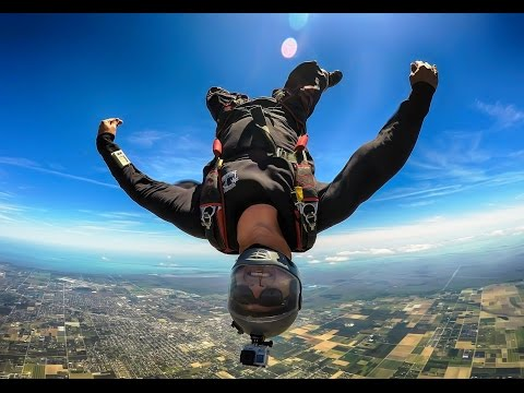 Skydiving in Miami - The best of April 2016