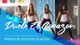 getlinkyoutube.com-Duele El Corazon - Enrique Iglesias ft Wisin - Fitness Dance Choreography