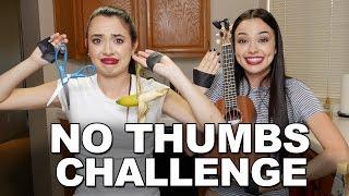 getlinkyoutube.com-NO THUMBS CHALLENGE - Merrell Twins