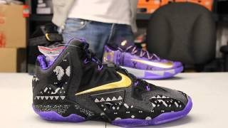 """getlinkyoutube.com-Lebron XI """"BHM"""" Unboxing Video at Exclucity"""
