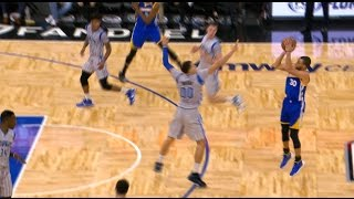 getlinkyoutube.com-Steph Curry Drops 27 & Passes Peja Stojakovic On NBA's All Time 3 Pointers Made List | 01.22.17
