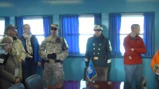 getlinkyoutube.com-North Korea, Propaganda village, Korea DMZ, DMZ, JSA,북한