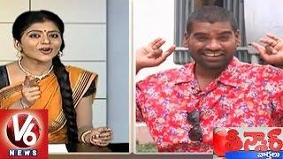 getlinkyoutube.com-Savitri Funny Conversation With Bithiri Sathi On Balakrishna's Lion Movie || Teenmaar News