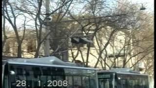 getlinkyoutube.com-Trolley Buses in Beijing