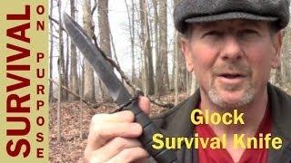 getlinkyoutube.com-Glock Survival Knife Review - Survival On A Shoestring