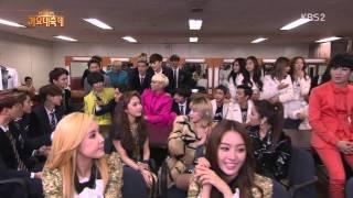 131227 All Artists Waiting Room @KBS Gayo Daechukje