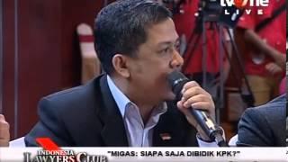 Debat Fahri Hamzah Kritik Kinera Johan Budi KPK