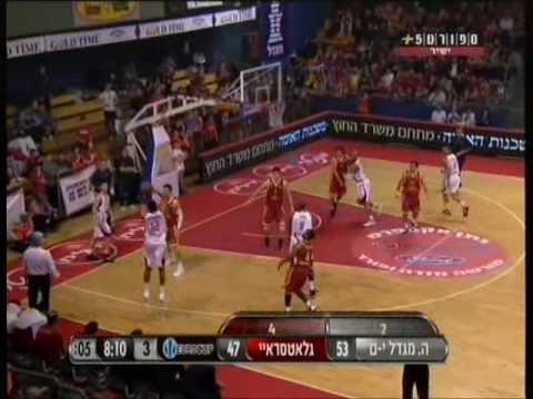 Yogev Ohayon show vs Galatasaray  (EuroCup Top16 Day 2)