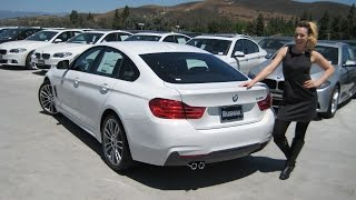"getlinkyoutube.com-NEW BMW 428I Gran Coupe M Sport - 19"" M Wheels Review - Coral Red Interior!"