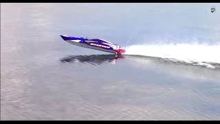 getlinkyoutube.com-RC ADVENTURES - Traxxas Spartan Extreme Speed Boating