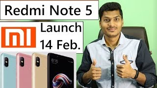 Xiaomi Redmi Note 5 confirmed To Be Launch on 14 February 2018 in India Full Details #Giveme5
