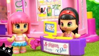 getlinkyoutube.com-Spa de Pinypon - Juguetes de Pinypon - Vídeos de Juguetes