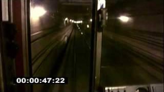getlinkyoutube.com-Двухстороннее движение поезда.