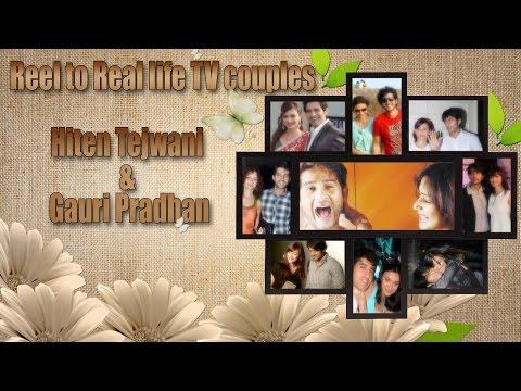 The Power Couple of Hiten Tejwani and Gauri Pradhan