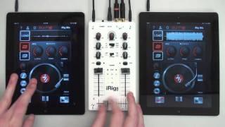 getlinkyoutube.com-Scratching on iPad with DJ Rig and iRig MIX