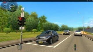 getlinkyoutube.com-City Car Driving Peugeot 207 HD