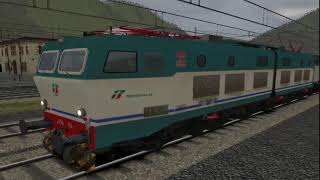getlinkyoutube.com-Train Simulator 2015 Ferrovia Sul Confine Italia - Francia #2