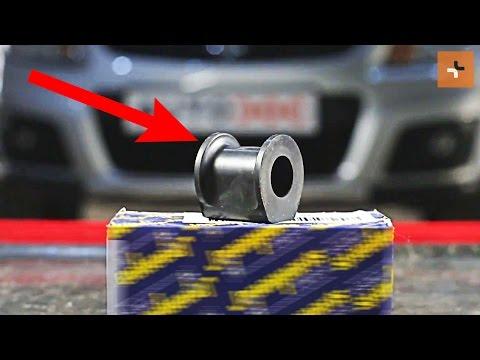 Jak wymienic tuleja stabilizatora przedniego w SUZUKI SX4 1 TUTORIAL | AUTODOC