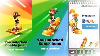 getlinkyoutube.com-Subway Surfers Freestyler Double Jump and Super Jump!