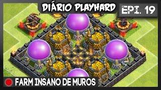 getlinkyoutube.com-Diário Playhard #19 - Evoluindo muros ! (e guerra)