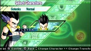 getlinkyoutube.com-Dragon Ball Z Shin Budokai 2 en PPSSPP (Emulador de PSP)